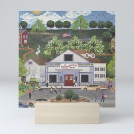 American Girl's Day Out Celebrating Girl Scouts Mini Art Print
