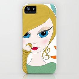 Layla by AshGrayDoll iPhone Case