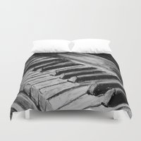 piano Duvet Covers featuring Piano by Renny Hendra