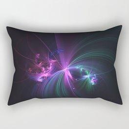 Fireworks Fractal Rectangular Pillow
