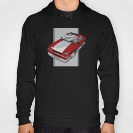 1983S L-Body Charger Red Hoody