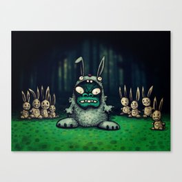 faux lapin Canvas Print