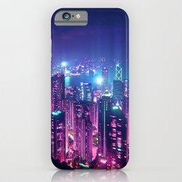 Neo Hong Kong iPhone Case