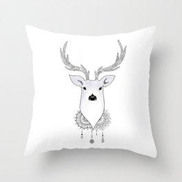 O Deer Throw Pillow