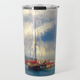 Waiting to sail Travel Mug