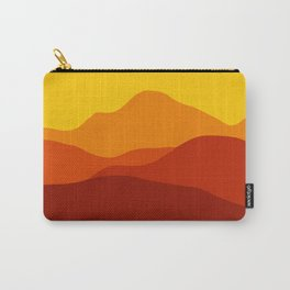 Mountains at Sunset  #society6 #decor #buyart #artprint Carry-All Pouch