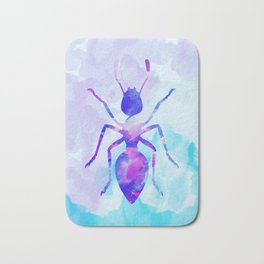 Abstract Ant Bath Mat