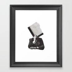 r e s o l u t i o n  Framed Art Print