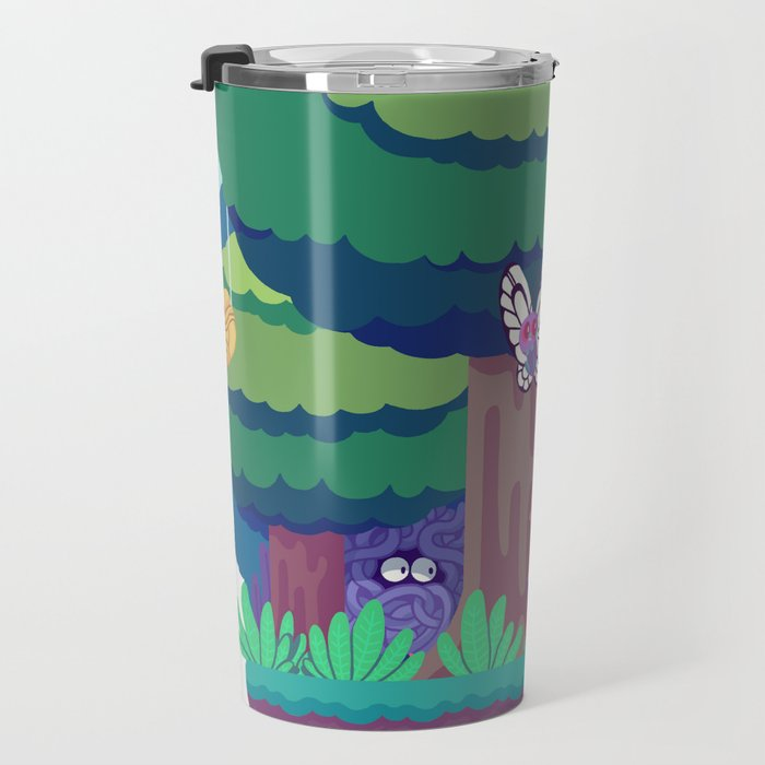 Tiny Worlds - Viridian Forest Travel Mug