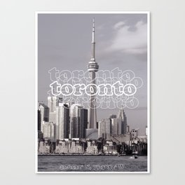 Toronto Life Canvas Print