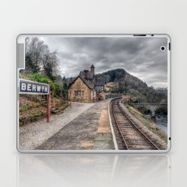 Berwyn Railway Station Laptop & iPad Skin