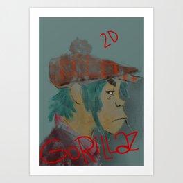 2d Art Print