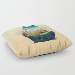 Forest Dream Floor Pillow