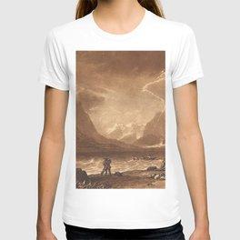 Lake of Thun, Swiss (Liber Studiorum, part III, plate 15) (1808) by J.M.W. Turner T-shirt
