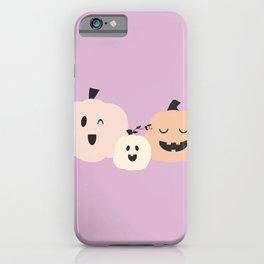 3 Pumpkins 4 iPhone Case