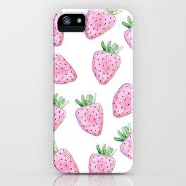 strawberry sensation iPhone Case