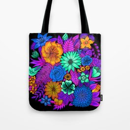 Flowers of the universe3 Tote Bag