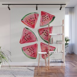 Watermelon Slices Wall Mural