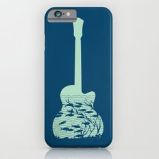 Fish playing music in a guitar iPhone 6s Slim Case