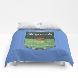 Castle in the sky - Miyazaki - Special Soup Series  Comforters