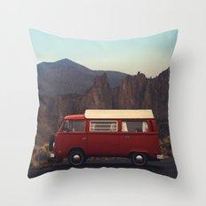 Doris at Smith Rock Throw Pillow