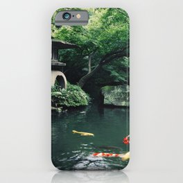 Happoen Garden iPhone Case