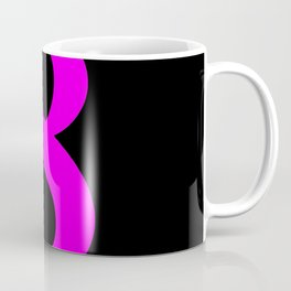 8 (FUCHSIA & BLACK NUMBERS) Coffee Mug
