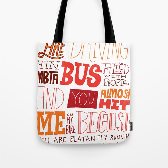 MBTA: Fun Fact! Tote Bag