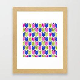 Arrow Multicolor Framed Art Print