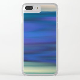 Indigo Clear iPhone Case