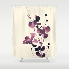 Organic Impressions 334zs by Kathy Morton Stanion Shower Curtain