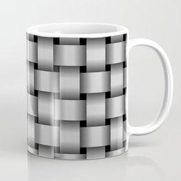 Light Gray Weave Coffee Mug