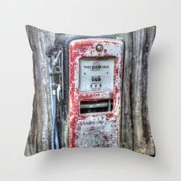 Gas Dispenser Throw Pillow
