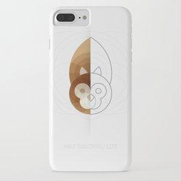 HALF (squirrel) LIFE iPhone Case
