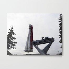 rocket launcher Union Metal Print