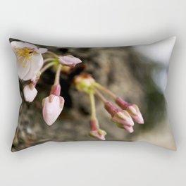 Spring Blooms Rectangular Pillow