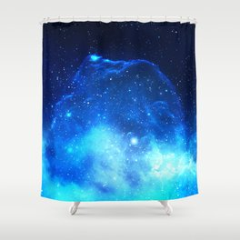 Jelly Nebula Shower Curtain