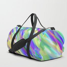 Colorful digital art splashing G401 Duffle Bag