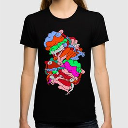 Bodies In Motion - Red Palette T-shirt