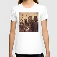 victorian T-shirts featuring Victorian Wars  - square format by Terry Fan