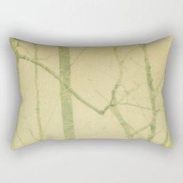 yellow winter trees Rectangular Pillow