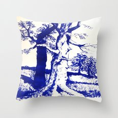 Trees Throw Pillow