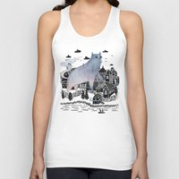 fog Tank Tops featuring The Fog by littleclyde