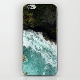 The Waikato at Huka Falls iPhone Skin