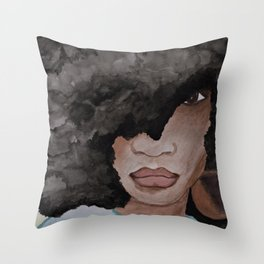 Queenin' Throw Pillow