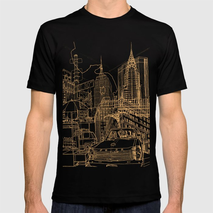 New York! Night T-shirt