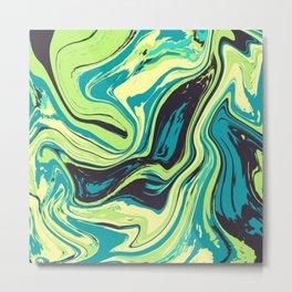 Acrylic Flow #1607 - VaNaty Metal Print