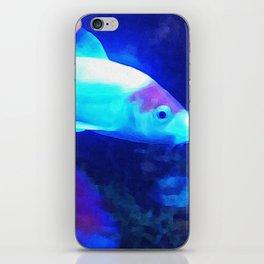 Blue Fish iPhone Skin