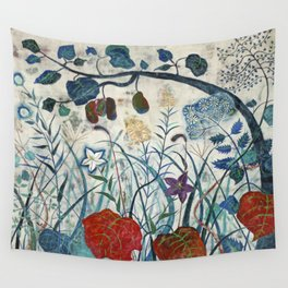 nature【Japanese painting】 Wall Tapestry
