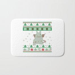 Bunny Christmas Bath Mat